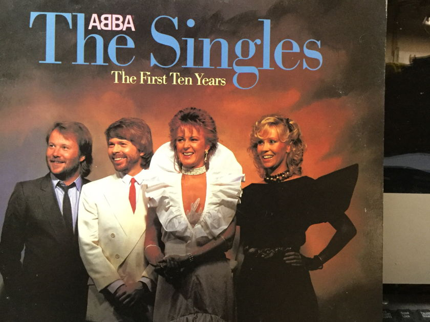 Abba - The Singles the first ten years 2 RECORD SET