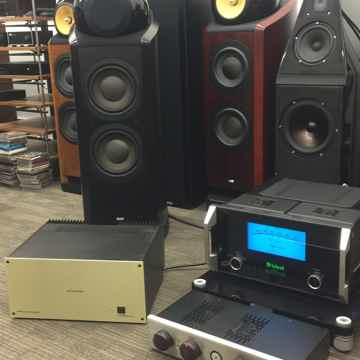 MC-601 Monoblocks Amplifiers