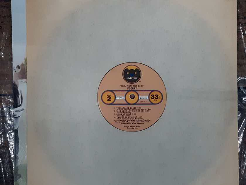Foghat - Fool For The City 1975 EX Vinyl Original Pressing Bearsville BR 6959