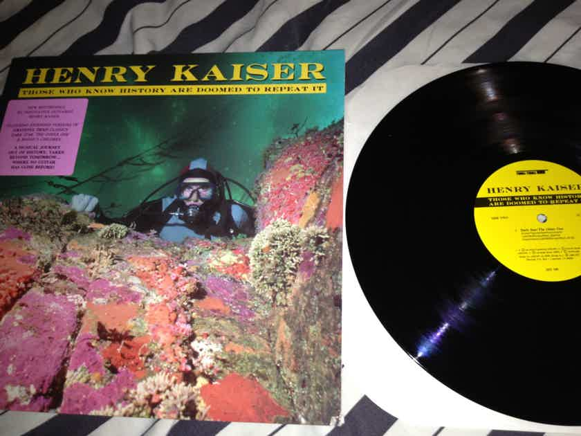 Henry Kaiser - Those Who Know History SST Records Vinyl LP NM Dark Star Grateful Dead Song
