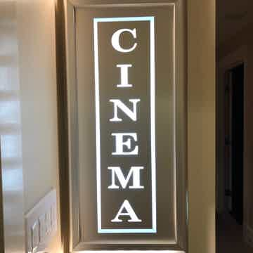Home Cinema Sign (large)