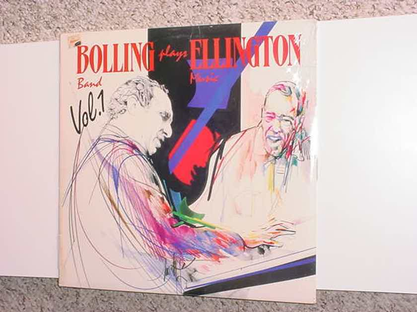 JAZZ Bolling band plays Ellington music vol1 - Sealed lp record 1987 CBS  FM 42474