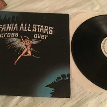 Fania All Stars Cross Over White Label Promo LP NM