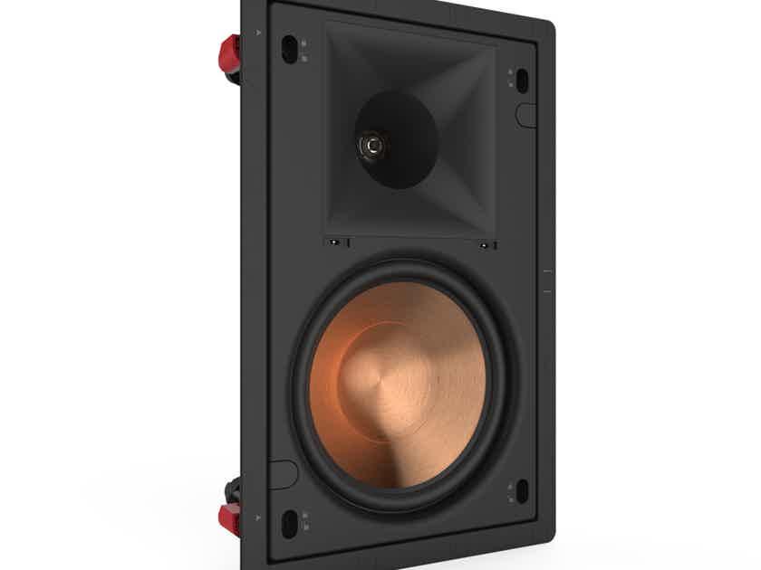 """Klipsch PRO-180RPW 8"""" 2 way in-wall speakers"""
