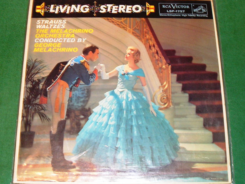 George Melachrino – Strauss Waltzes  - RCA VICTOR LIVING STEREO ***NM 9/10**
