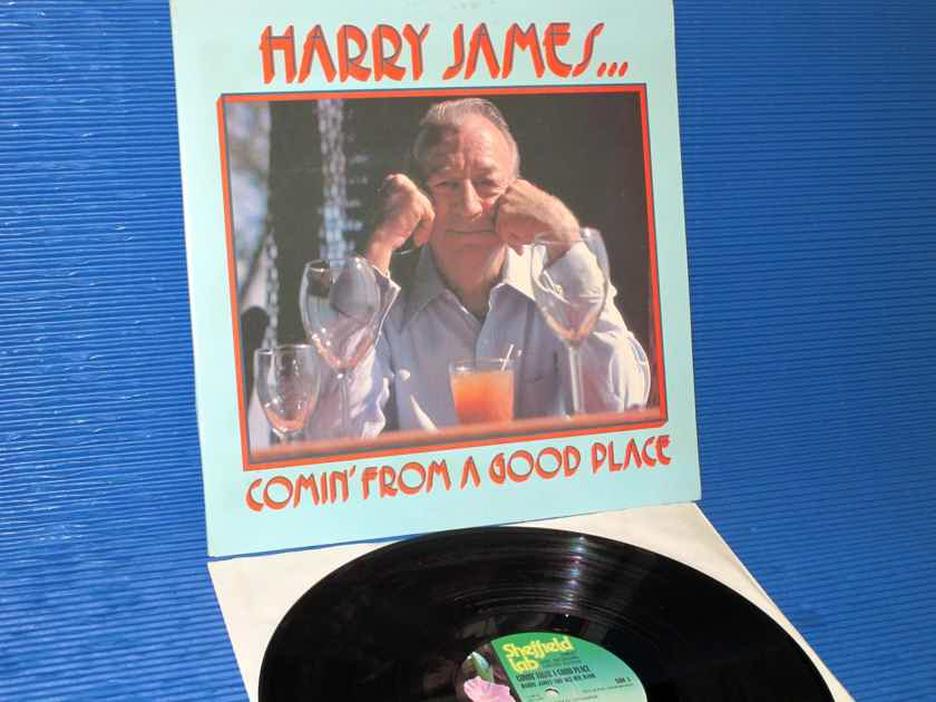 """HARRY JAMES  - """"Comin' From A Good Place"""" -  Sheffield Labs D-D 1977"""