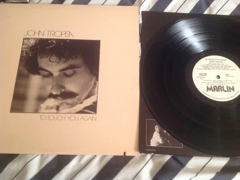 John Tropea To Touch You Again White Label Promo LP