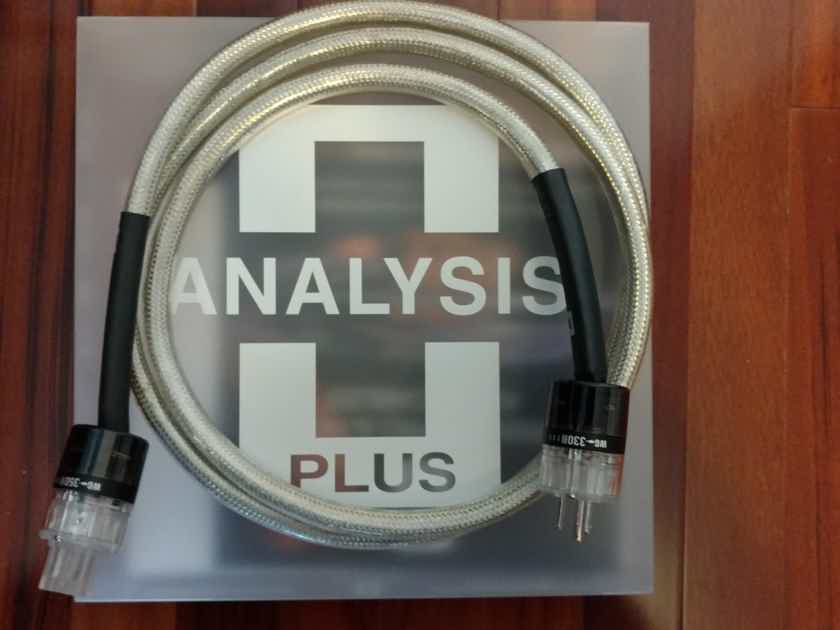 Analysis Plus 7' Ultimate Power Oval Power Cable - DEMO - FREE Shipping!!