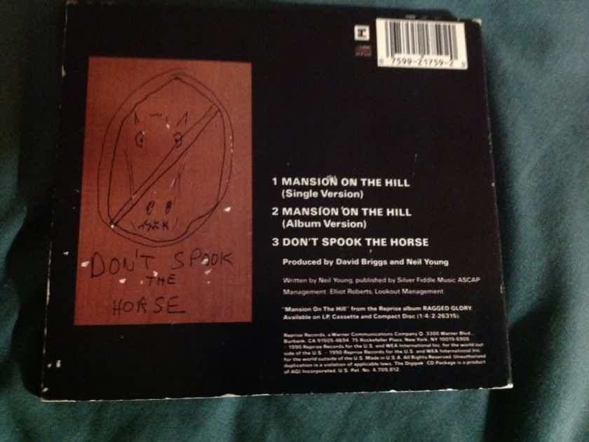 Neil Young & Crazy Horse - Mansion On The Hill/Don't Spook The Horse Reprise Records Compact Disc Maxi Single