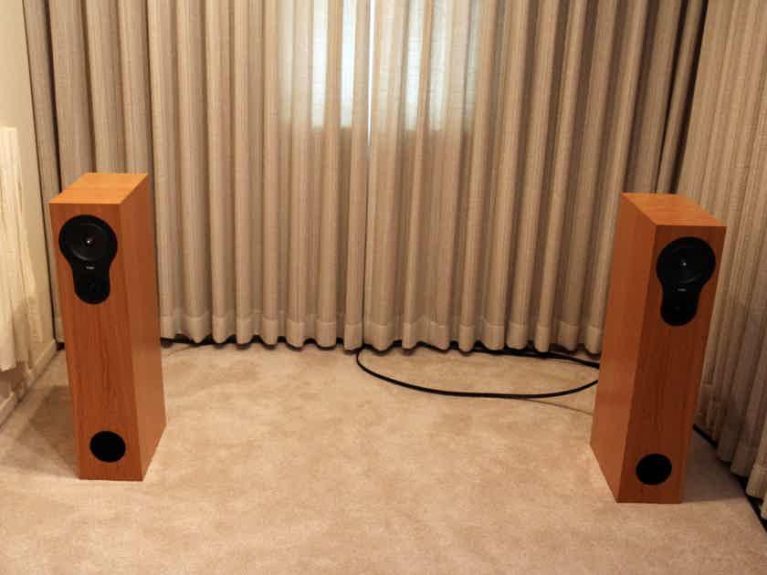 Rega RX-5 speakers-Cherry finish - mint - new lower price!