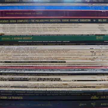 Mono Audiophile:  60 LPs, Very Rare and Desirable London, RCA, Capitol, Angel, Mercury, Decca Gold,