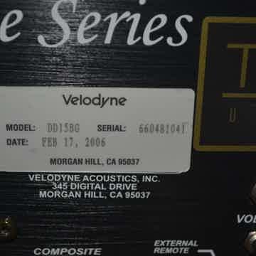 Velodyne DD15BG