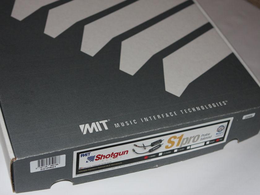 MIT Cables Shotgun S1 Proline  1-meter excellent XLR
