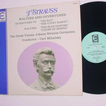 Johann Strauss waltzes and ouvertures