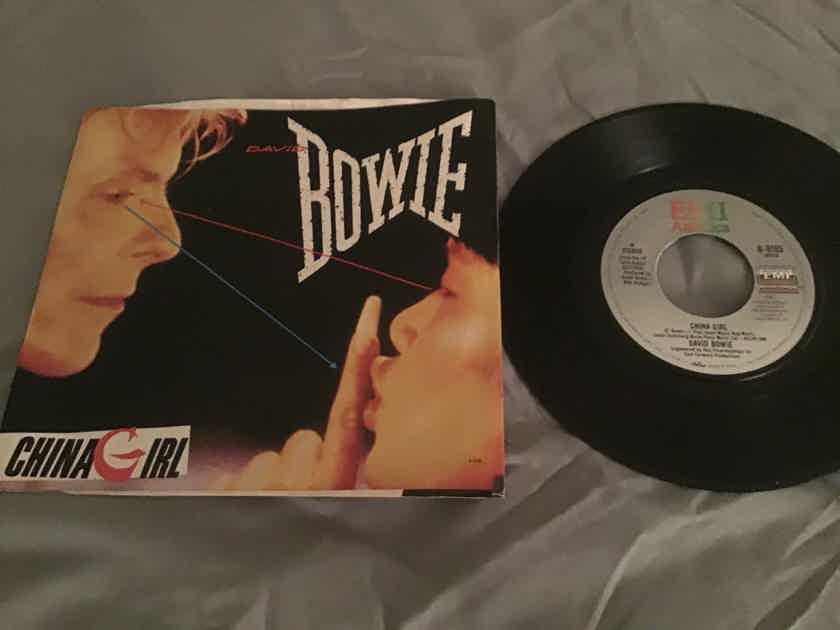 David Bowie 45 With Picture Sleeve Vinyl NM  China Girl/Shake It