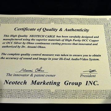 Neotech Cable Sahara SP