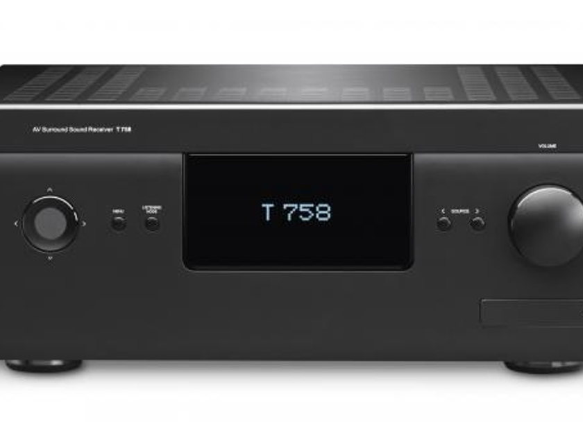 NAD T 758 /  T758 Surround Sound Receiver, with Warranty and Future Discount on 4K Video Upgrade