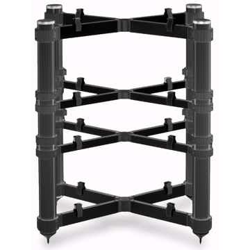 Solid Tech Rack of Silence Reference 4 (Black/Black): Audio Rack: Open Box; Full Warranty; 28% Off; Free Shipping