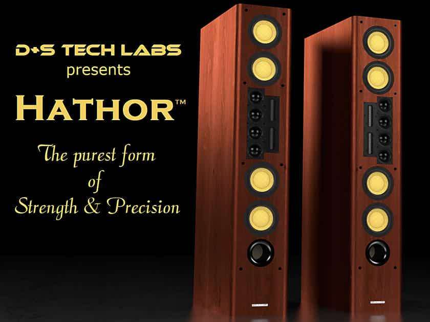 """Hathor - Audiophile Reference Stereo Pair with Built-In 15"""" Subwoofer"""