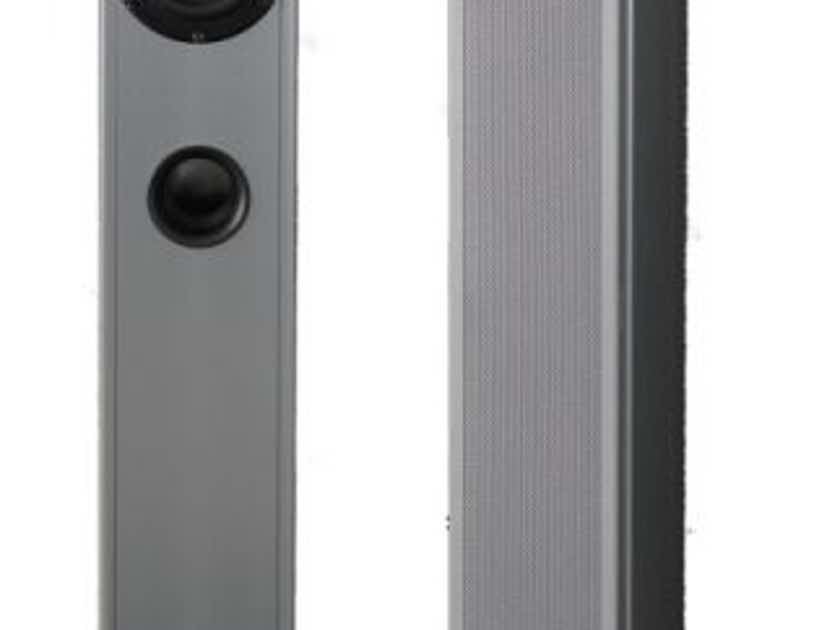 Piega Smart 3, Standfloor Speakers, silver colour