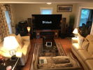 Living room HT system and 2 channel listening