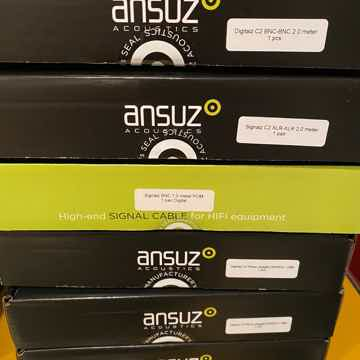 Ansuz Acoustics Signalz C2 phono cable Crazy pricing ab...