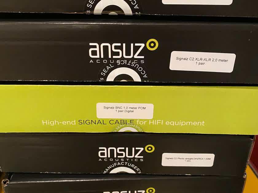 Ansuz Acoustics Signalz C2 phono cable about 80% off sealed box