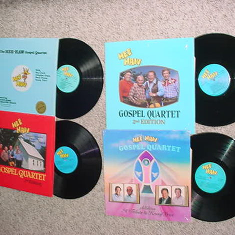 Hee Haw gospel quartet lot of 4 lp records