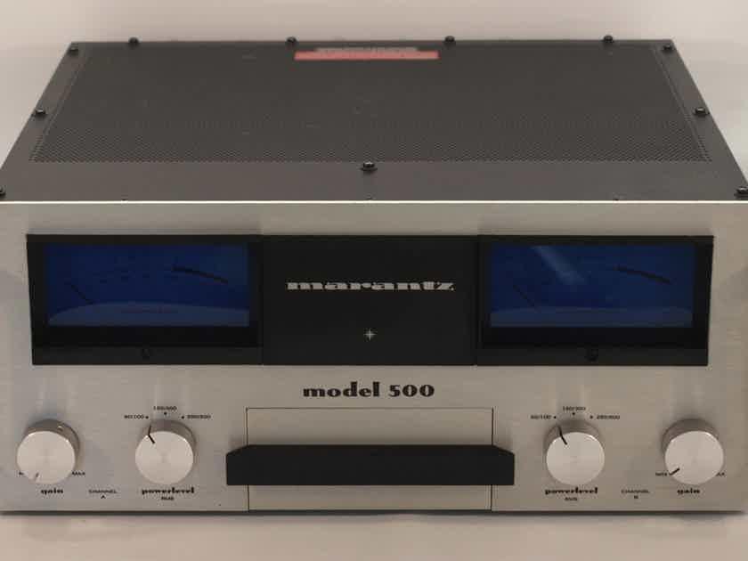 Marantz MODEL 500 RARE, VINTAGE SOLID STATE AMP, 500 WATTS @ 4 OHMS, EXCELLENT