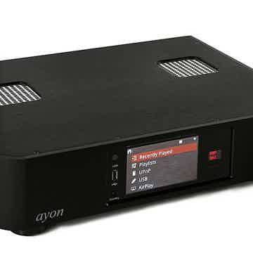 Ayon Audio S-10 II Signature Network Player DAC Preamp