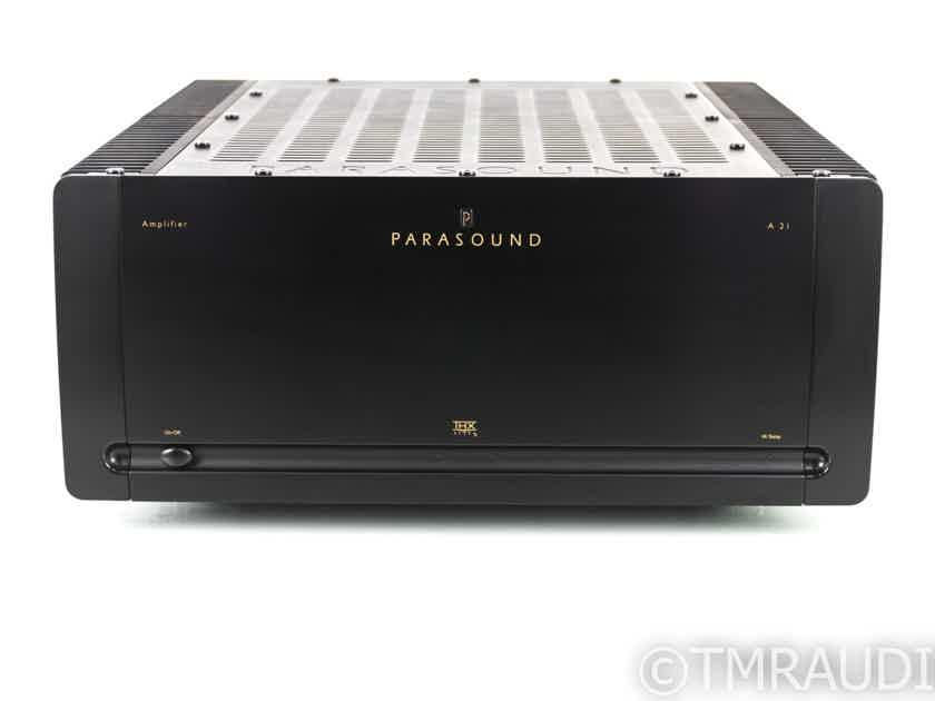Parasound A21 Stereo Power Amplifier; A-21 (20014)
