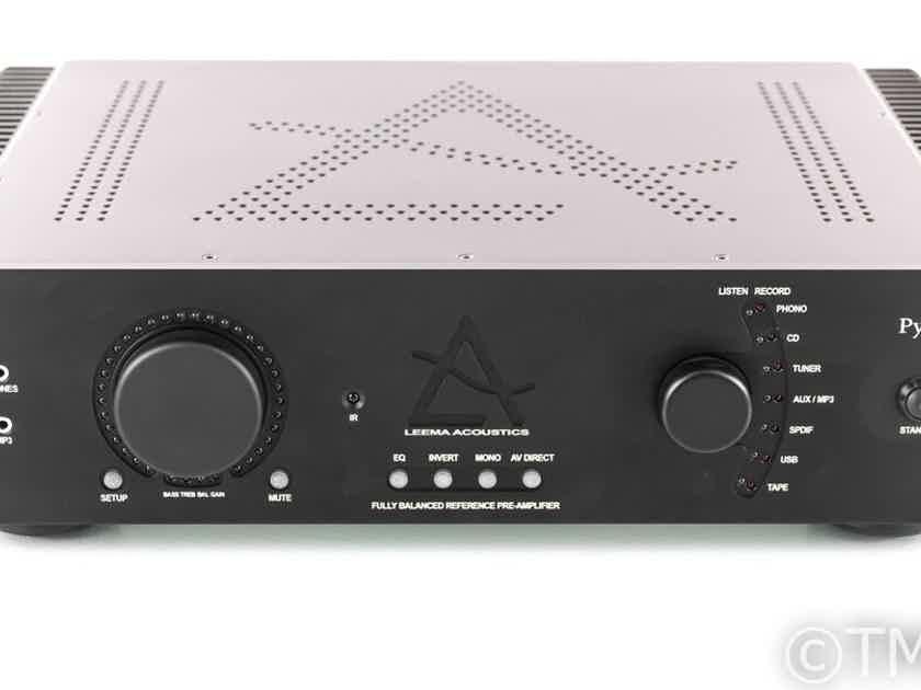 Leema Acoustics Pyxis II Stereo Preamplifier / DAC; Remote; MM/MC Phono (23314)