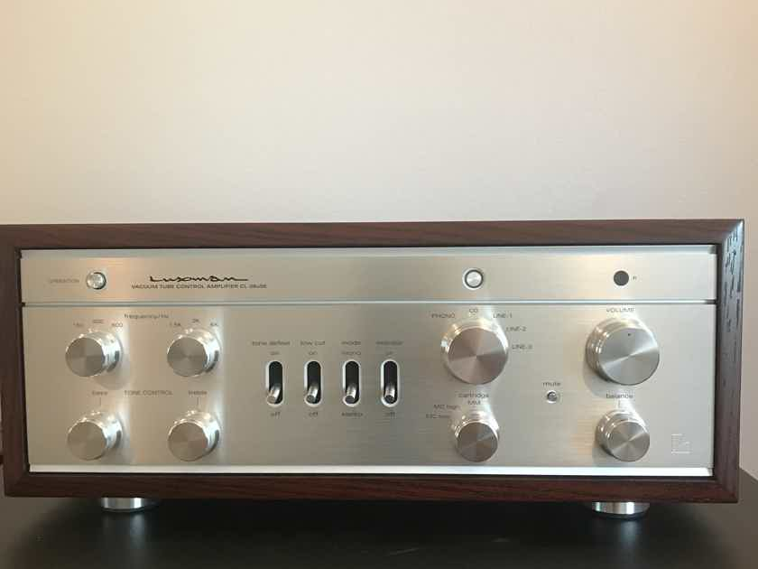 Luxman CL38uSE Tube Preamp