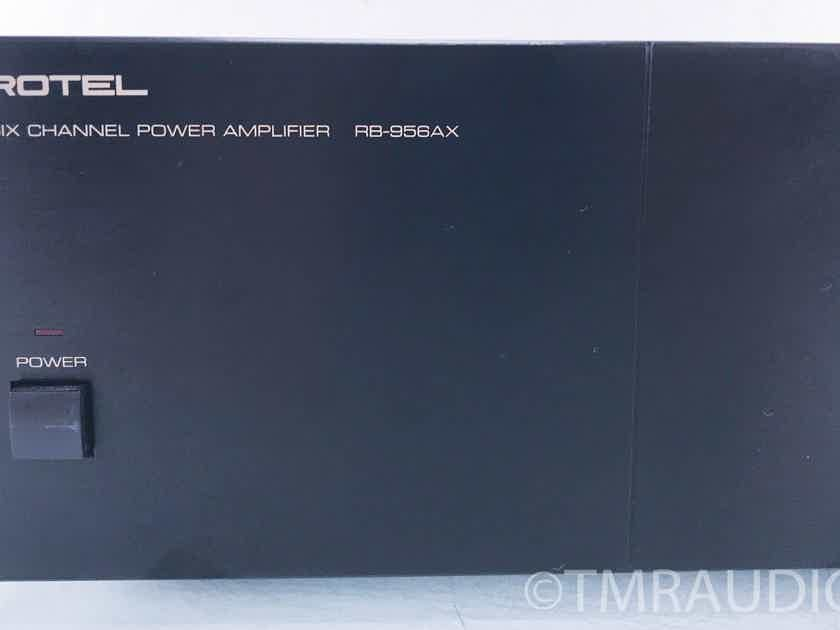 Rotel  RB-956AX Six-Channel  Power Amplifier (AS-IS / bad channel) (10245)