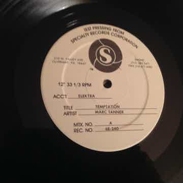 Marc Tanner Elektra Records Test Pressing  Temptation