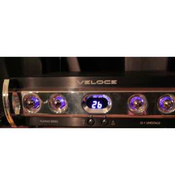 Veloce  LS-1 Linestage with Saetta amplifiers