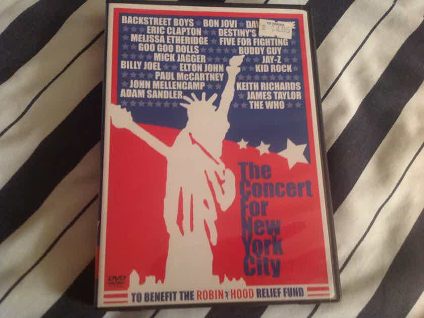 The Who David Bowie Bon Jovi Billy Joel  The Concert For New York City