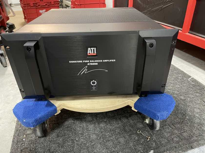 Amplifier Technology ATI Morris Kessler Signature Series AT6000 Amplifier