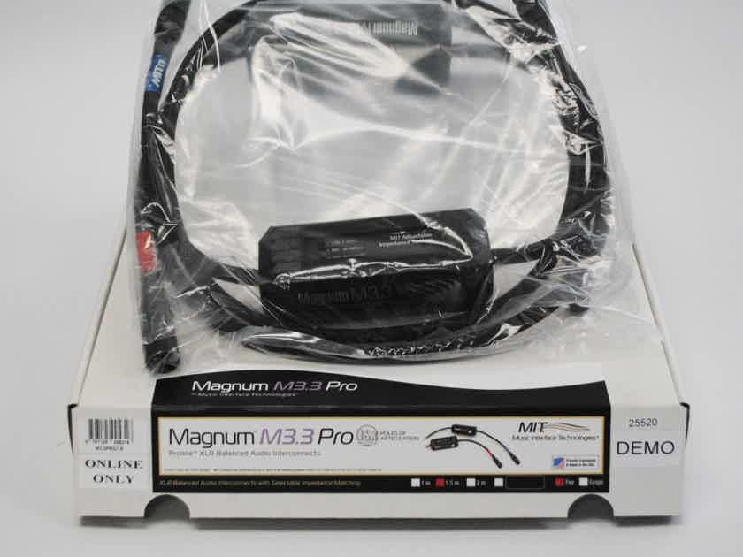 MIT Cables MAGNUM M3.3 PROLINE XLR 1.5M PR, USED, 2C3D, WARRANTY