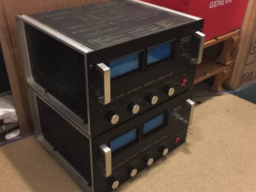 McIntosh MC2500 Power Amplifier from auth McIntosh dealer