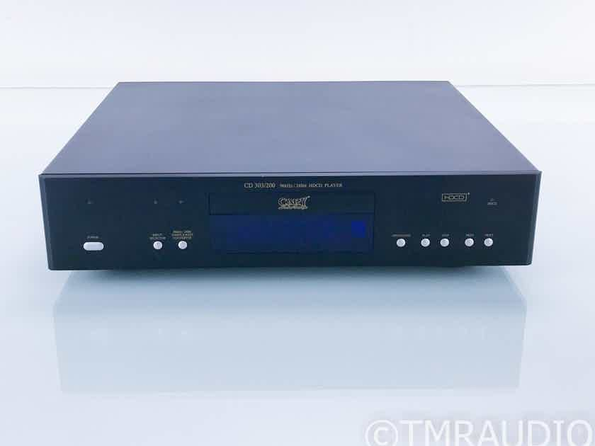 Cary Audio 303/200 HDCD / CD Player; Remote (17366)