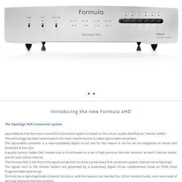 Aqua Formula xHD