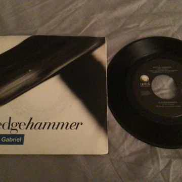 Peter Gabriel 45 With Picture Sleeve  Sledgehammer/Don'...