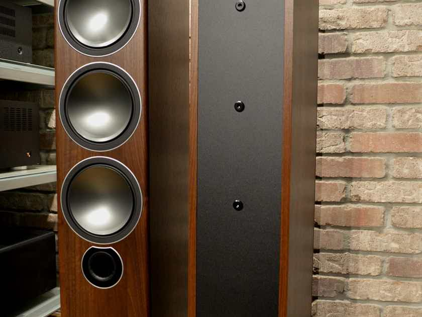 Monitor Audio Bronze 6 Floor-Standing Tower Loudspeaker - Walnut