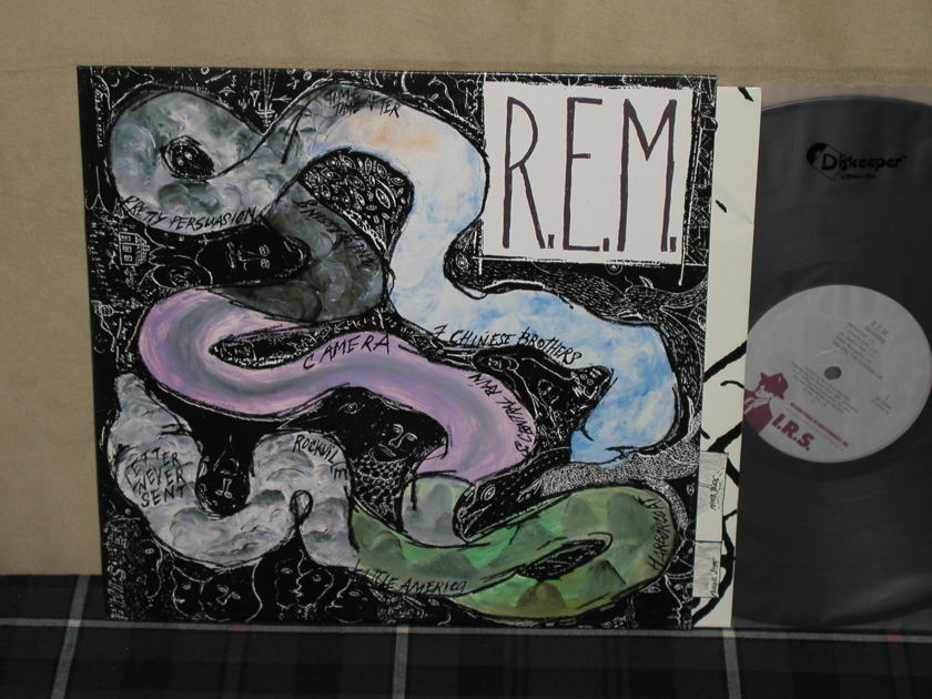 Rapid Eye Movement (REM) - Reckoning (Promo on QUIEX) IRS SP 70044 from 1984!