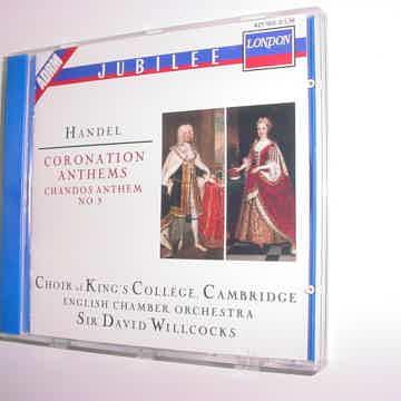 Coronation Anthems no9 Sir David Willcocks 1988