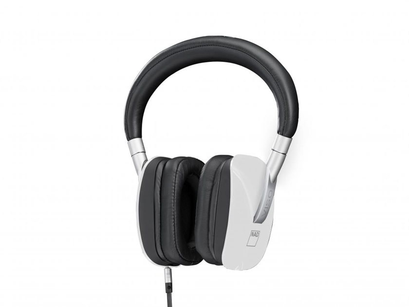 NAD VISO HP50 Headphones with Room Feel, Manufacturer's Warranty & Free Shipping (White)