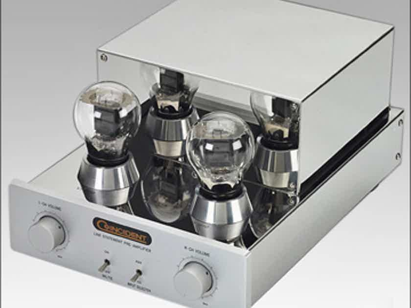 COINCIDENT STATEMENT Mk II Tube Preamp with separate power supply deal!