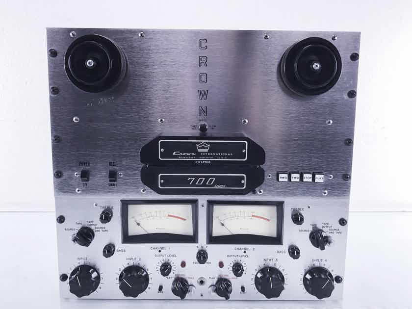 Crown  CX724 Vintage Reel to Reel Tape Deck / Recorder / Player; Refurbished (10010)