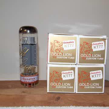 Genalex Gold Lion Reissue KT77 vacuum tubes quad